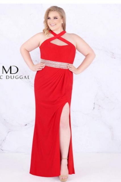 Mac Duggal 77532 Red Size 20W