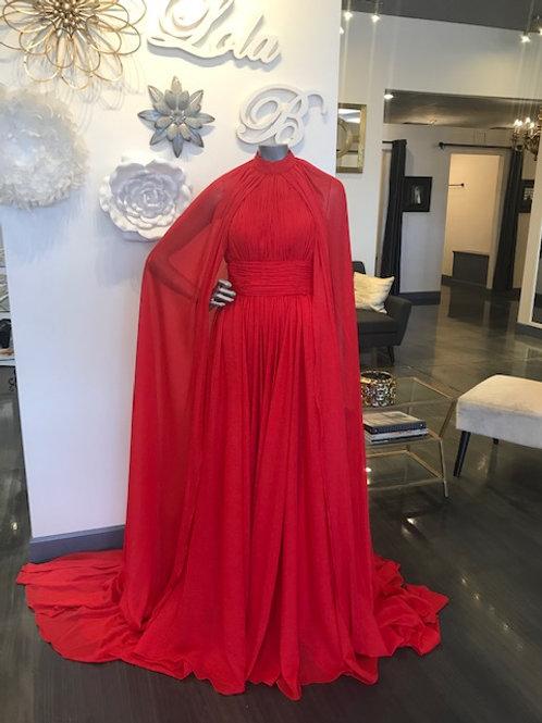 Johnathan Kayne Sample Red Size 4