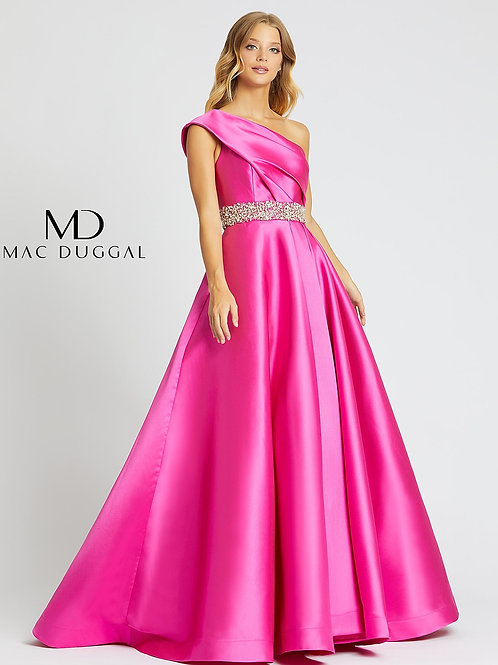 Mac Duggal 67101 Hot Pink Size 6