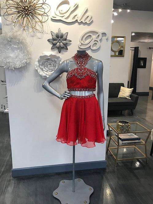 Rachel Allan OOAK Red Size 4
