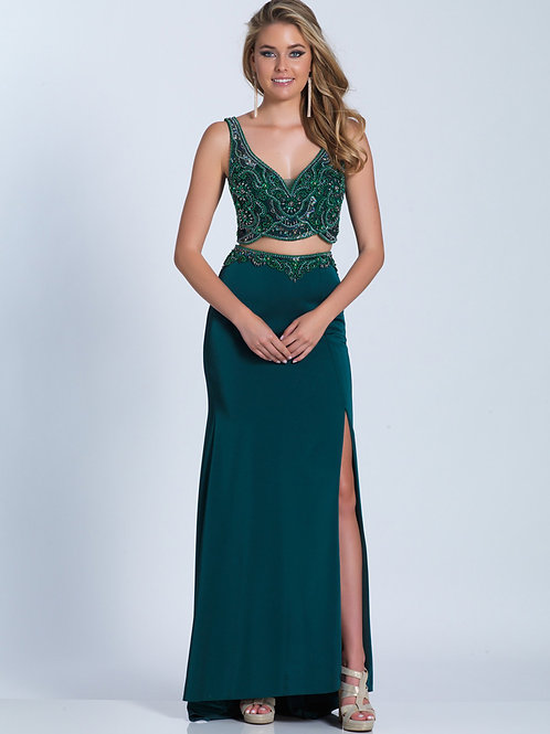 Dave & Johnny 3158 Emerald Size 10