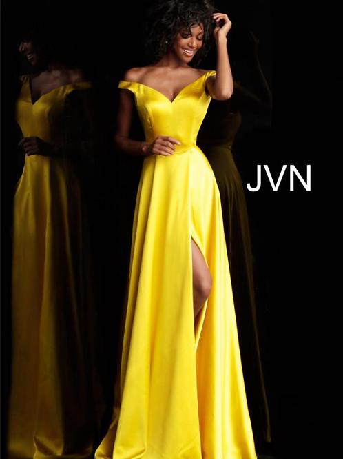 Jovani JVN67752 Yellow Size 10