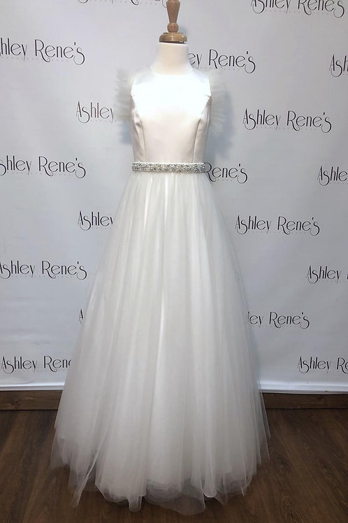Ashley Lauren 8006AL Ivory Size 16