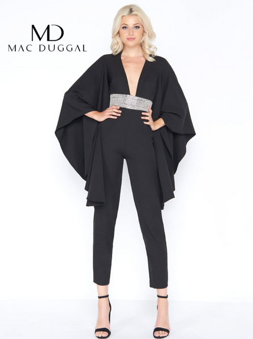 Mac Duggal 55204 Black Size 8