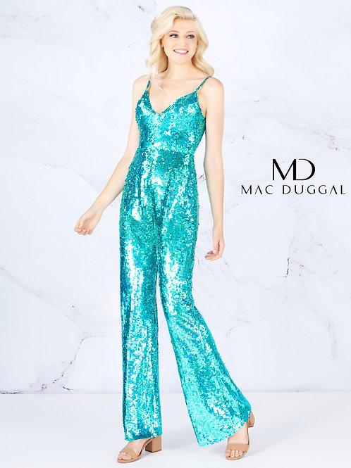 Mac Duggal 4864 Aqua Marine Size 10