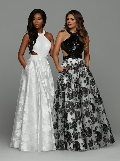 Sparkle Prom 71928 White Size 10