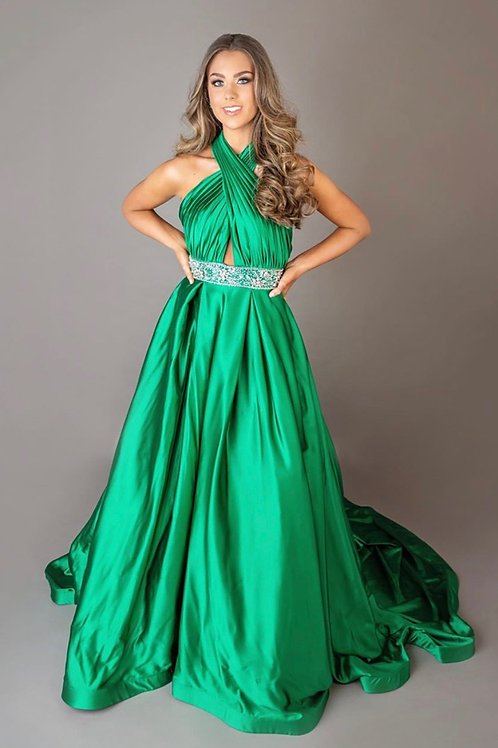 Mac Duggal 66529 Emerald Size 4