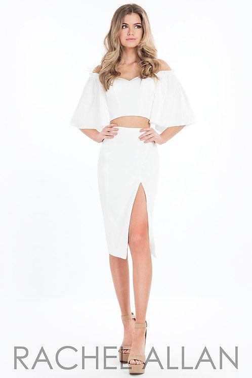 Rachel Allan L1085 White Size 2