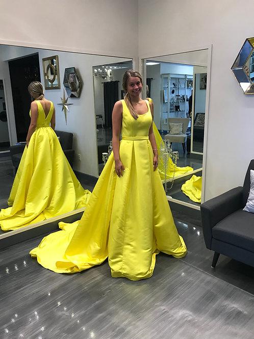 Ashley Lauren 1294 Yellow Size 2