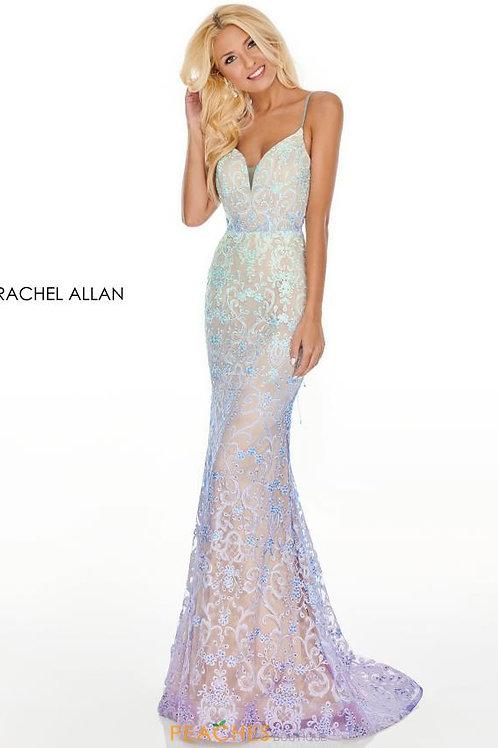 Rachel Allan 7198 Light Blue Size 6