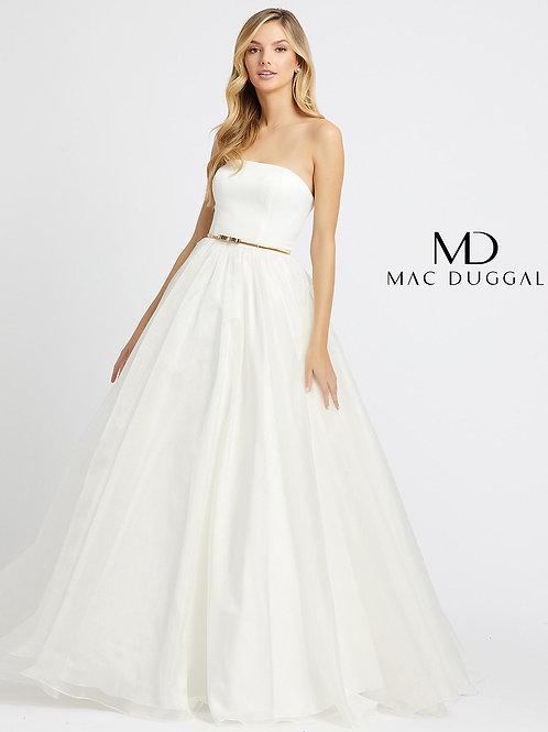 Mac Duggal 25943 White Size 10