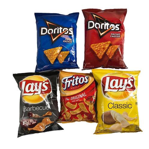 Chip Variety Frito Lay (60 bags)