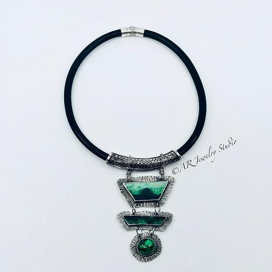 Green Garnet Necklace