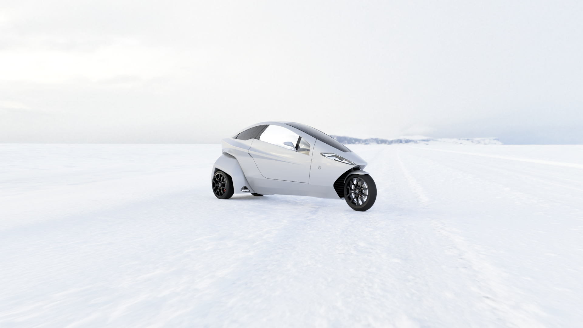 Helix is an electric tilting trike