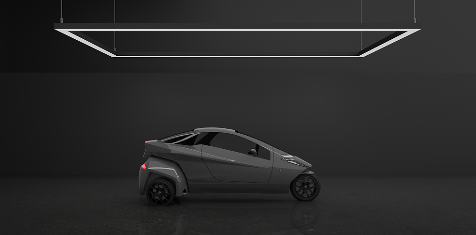 Helix is a 3 wheel vehicle
