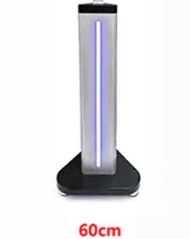 Base Lumineuse au LED sur pied.  60 cm de haut