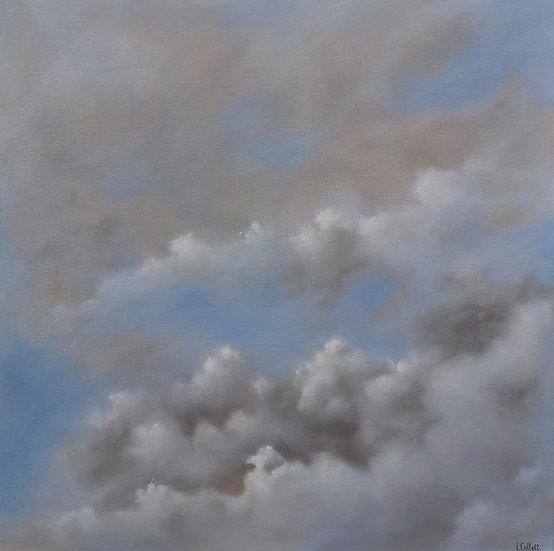 "I. COLLETT, ""Morceaux de ciel Adoré n°1"""