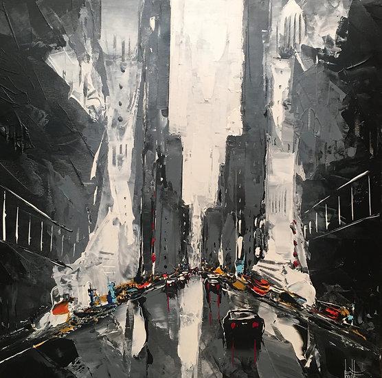 """F. Boutet, """"Evasion urbaine 10"""""""