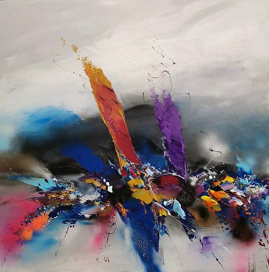 """F. Boutet, """"Evasion abstraite 128"""""""