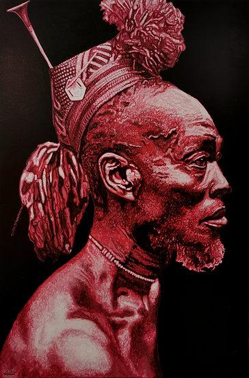 """Vallio, """"Vieux sage africain"""""""
