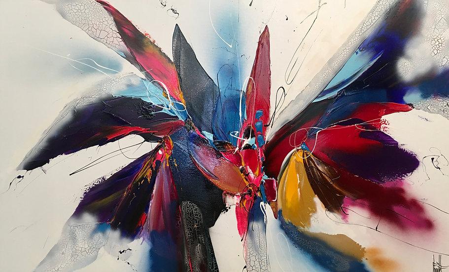 """F. Boutet,""""Evasion Abstraite 95"""""""