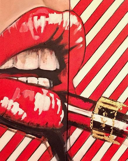 """B. Puech, """"Lipstick"""""""