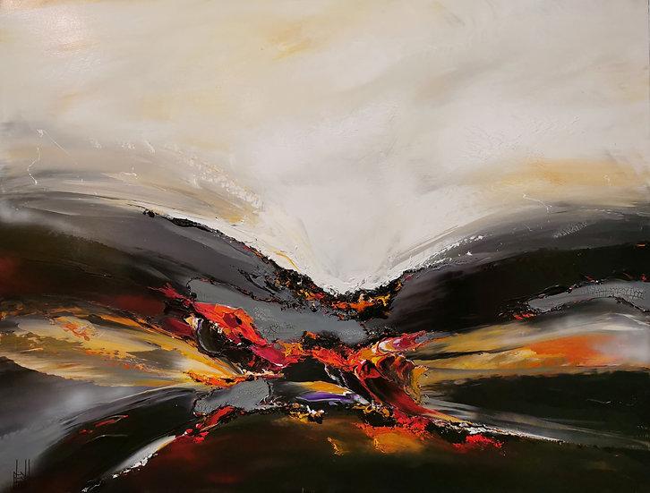"""F. Boutet, """"Evasion Abstraite 96"""""""