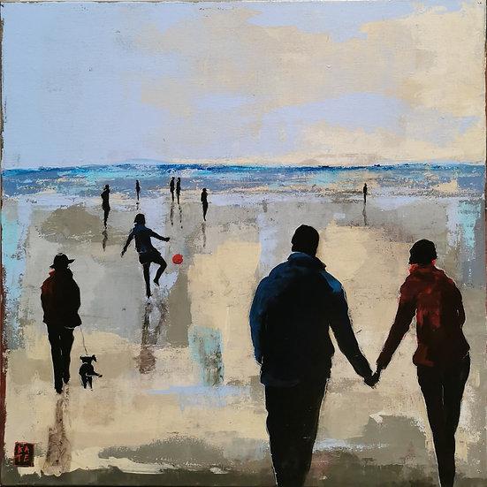 """KATE, """"Les amoureux à la plage"""""""