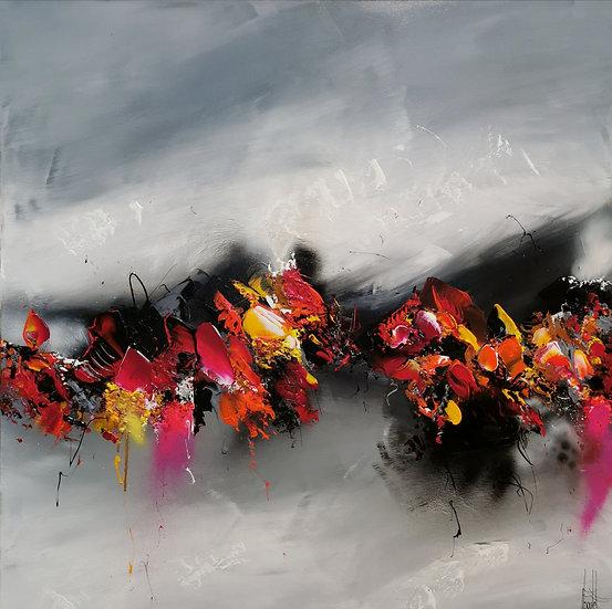 """F. Boutet, """"Evasion abstraite 105"""""""