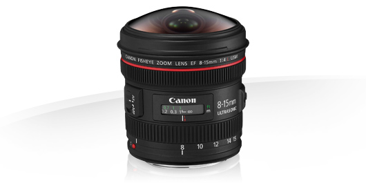 EF 8-15mm f4L Fisheye