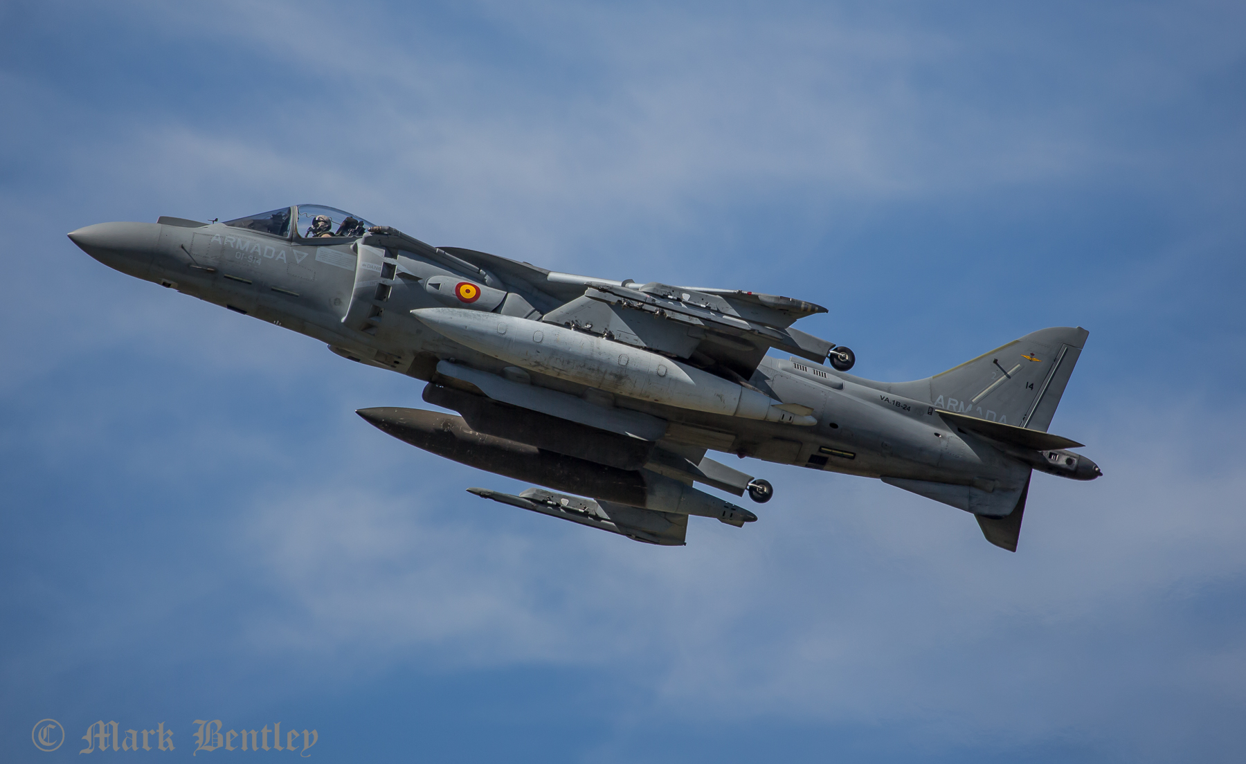 A034 Spanish Navy Harrier