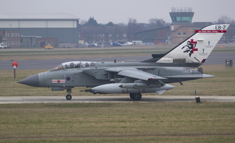B057 RAF Tornado