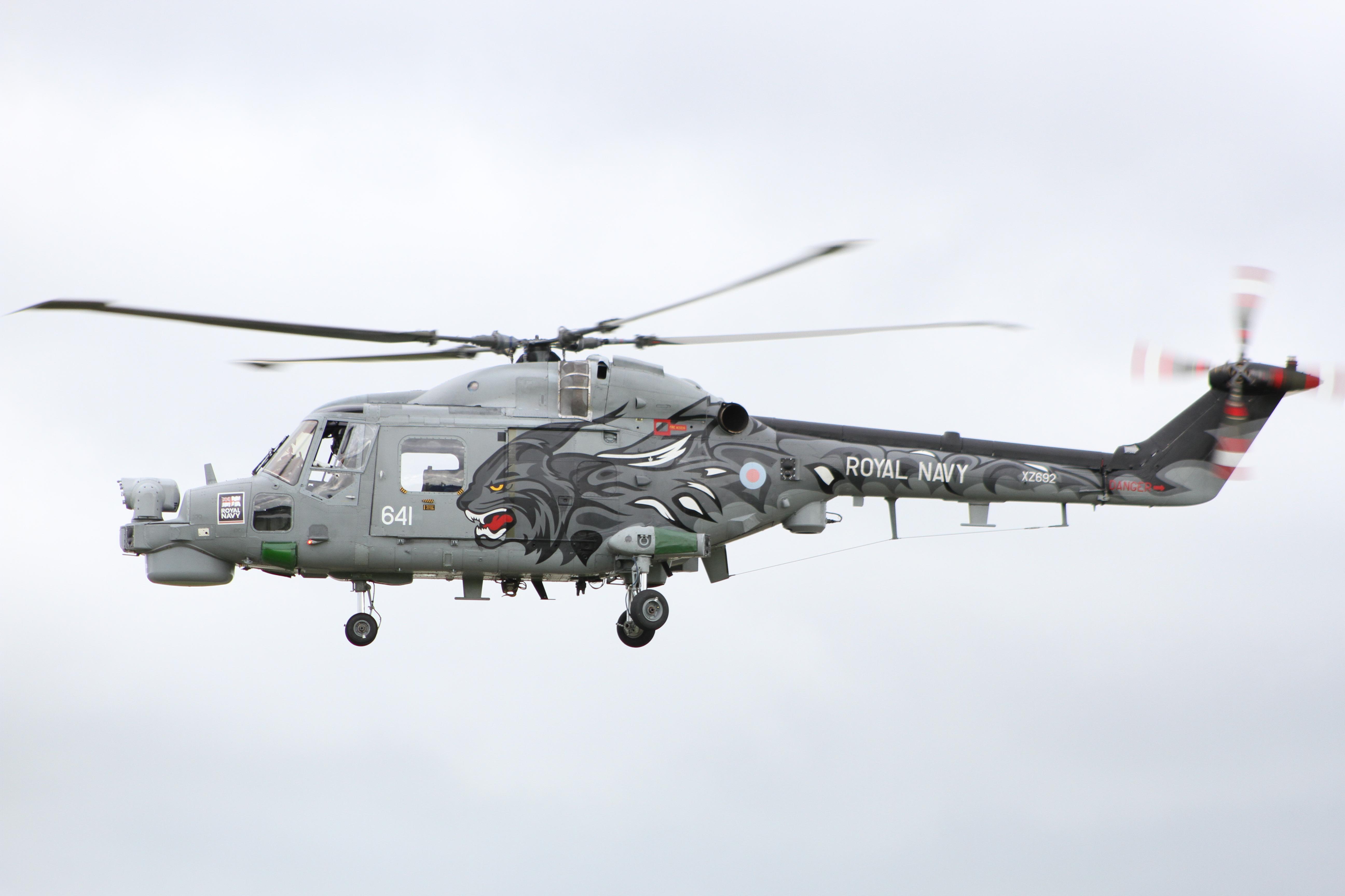 B012 Royal Navy Lynx
