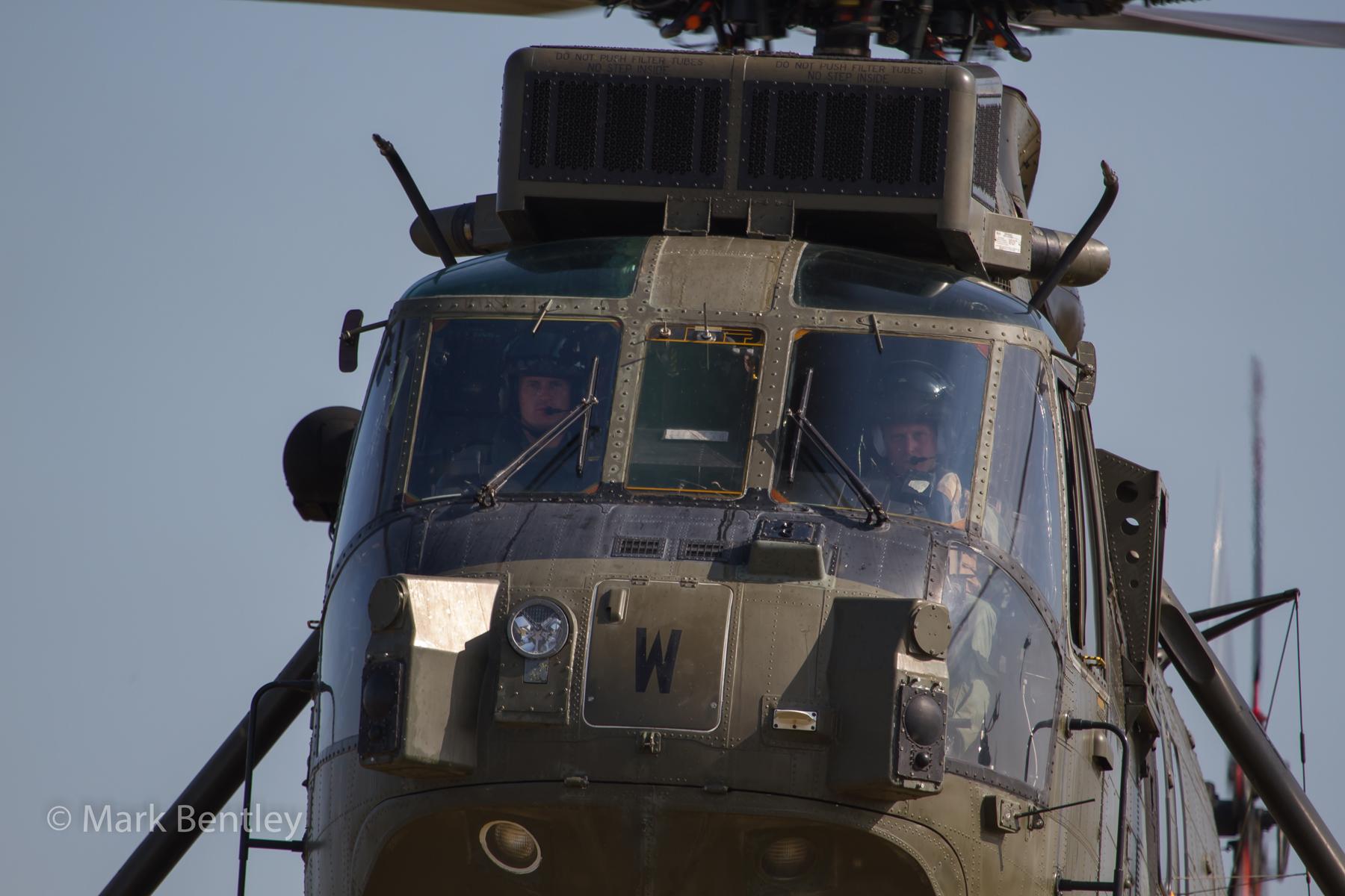 B001 Royal Navy Commando Sea King
