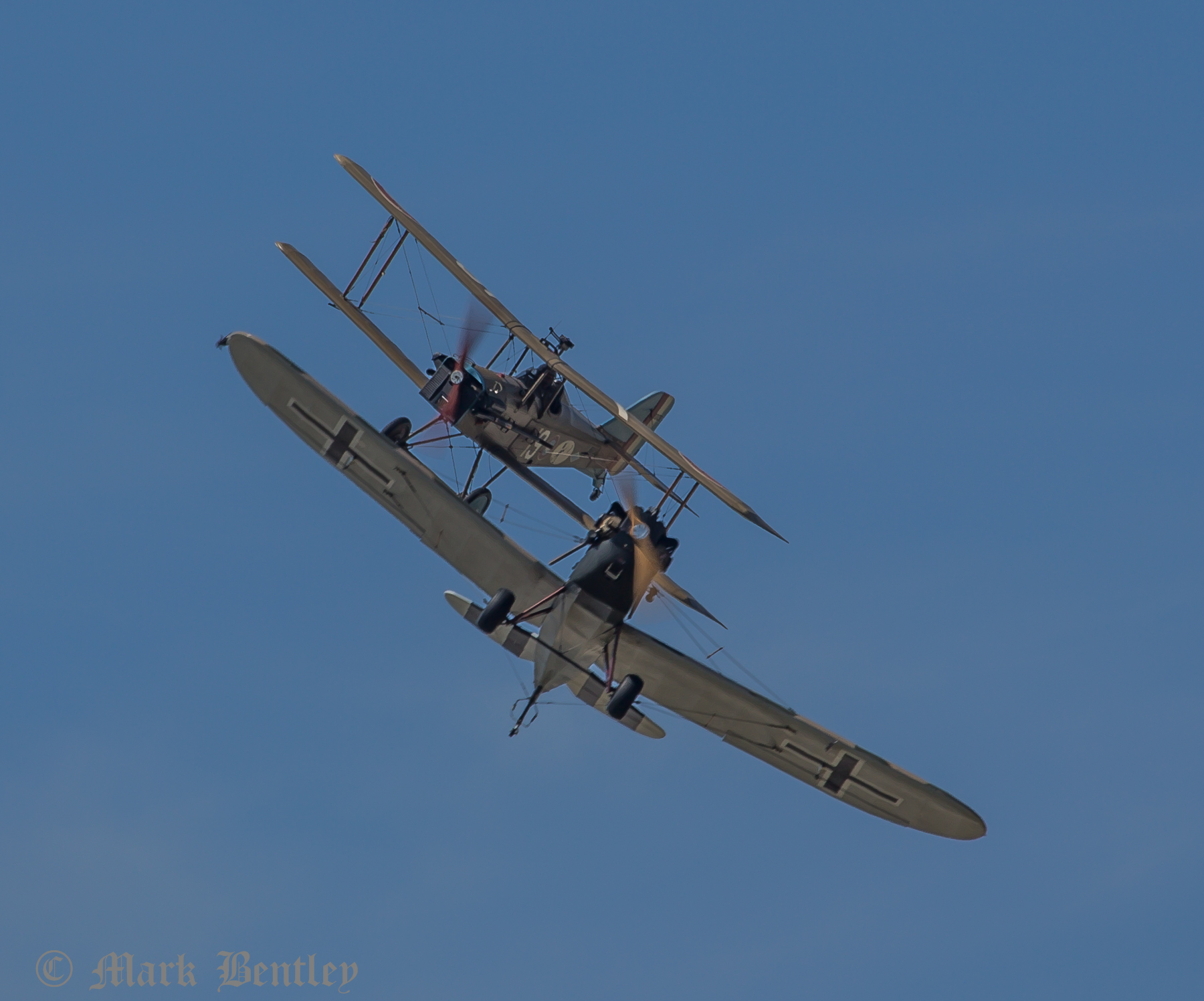 D007 SE5A and Junkers CL1