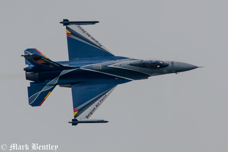 B034 Belgian F-16