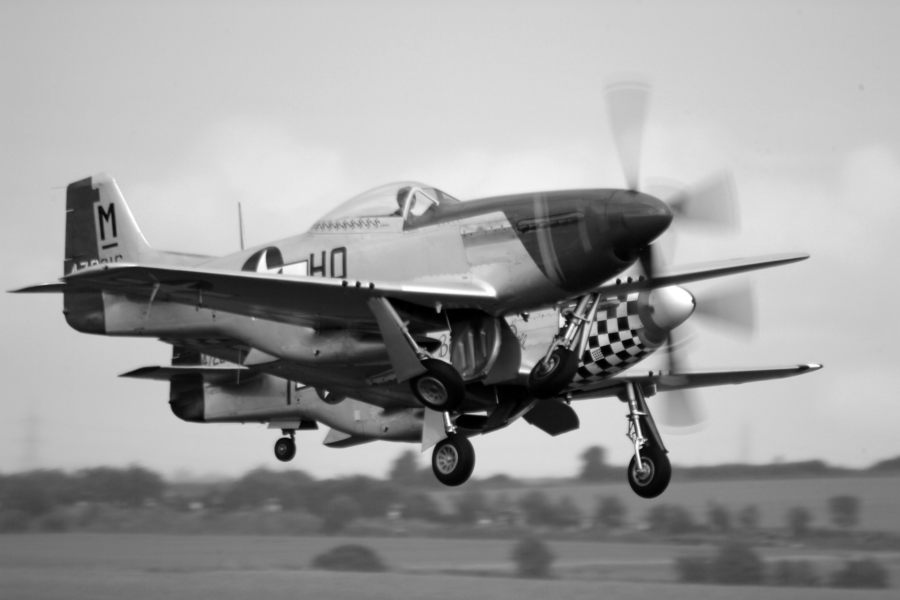 D030 P-51D Mustangs