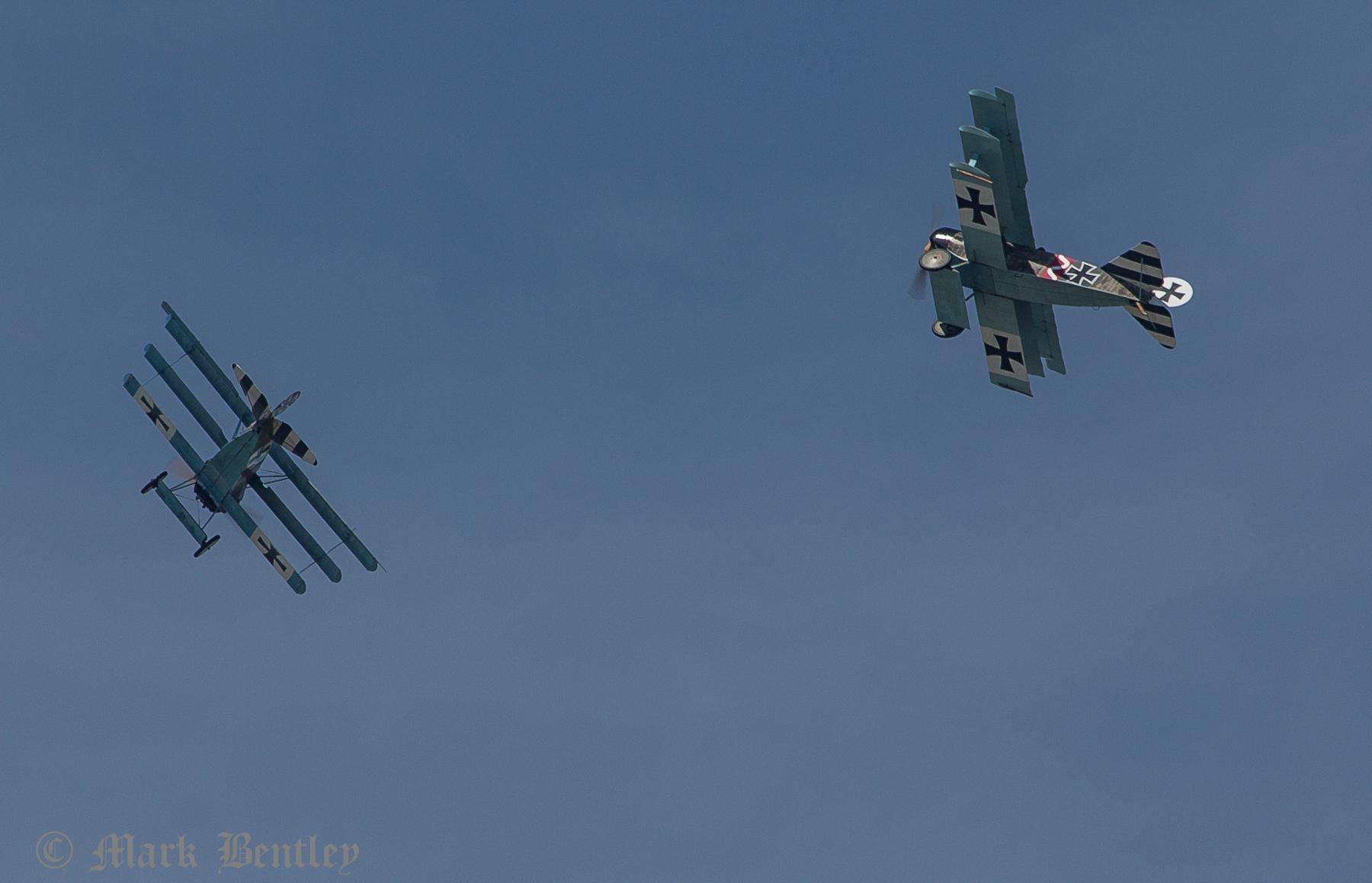 D017 Fokker Dr1Triplanes