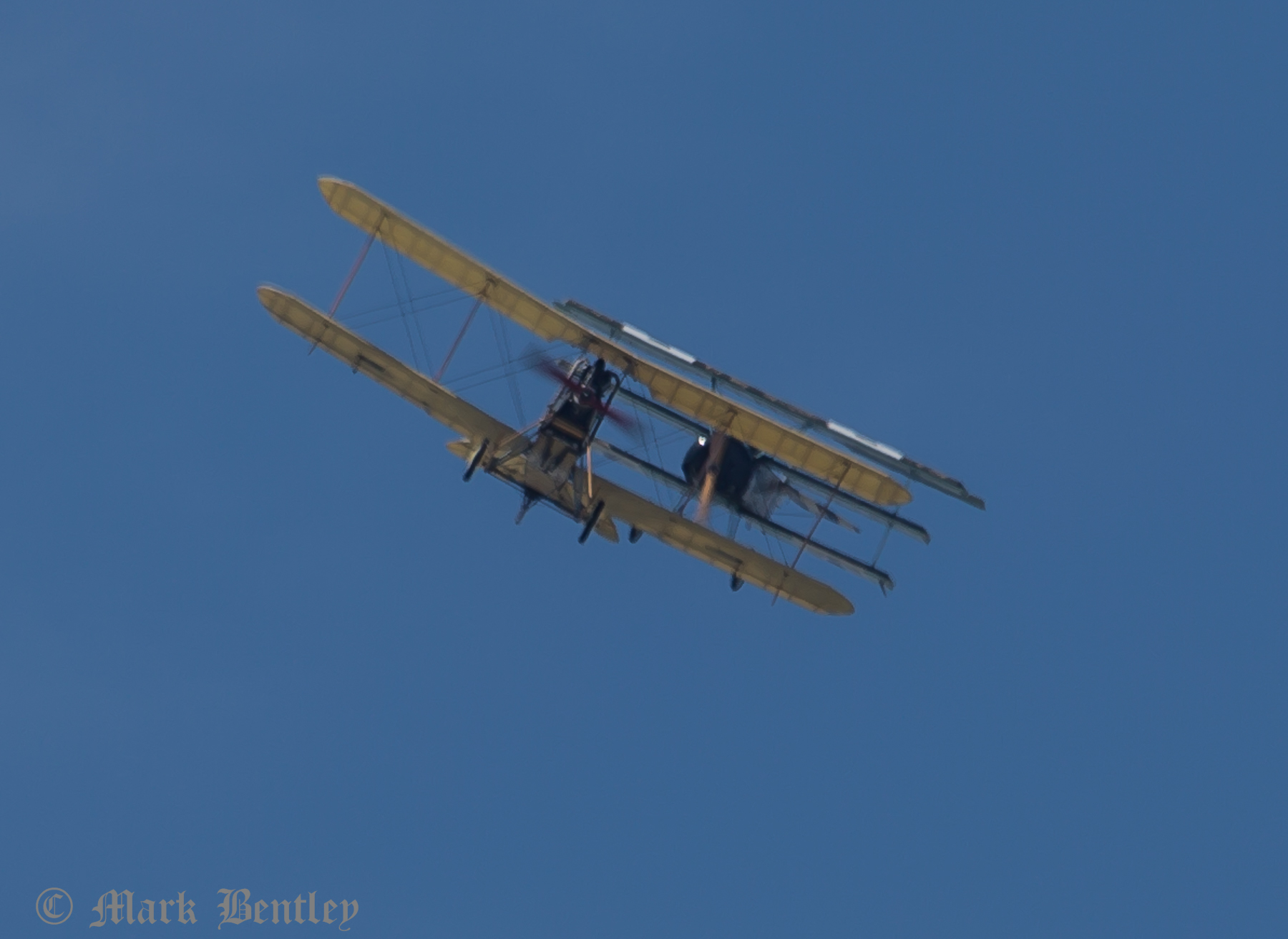 D008 BE2c and Fokker DR1