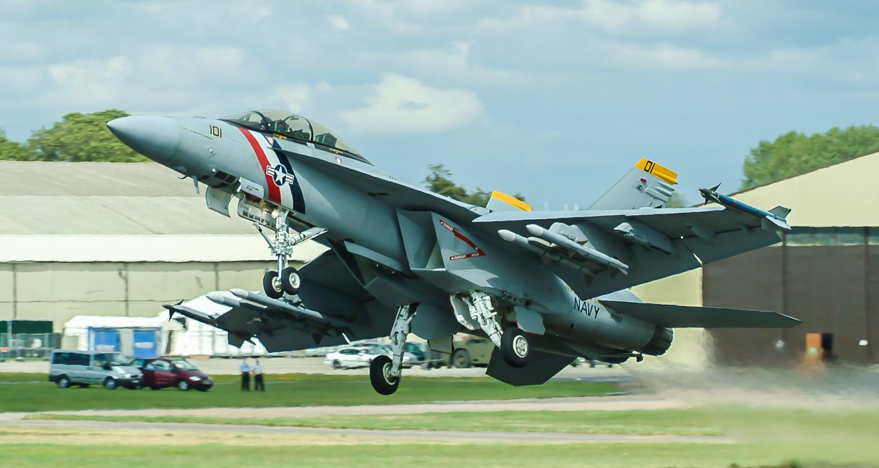 B016 Boeing F/A18 Super Hornet