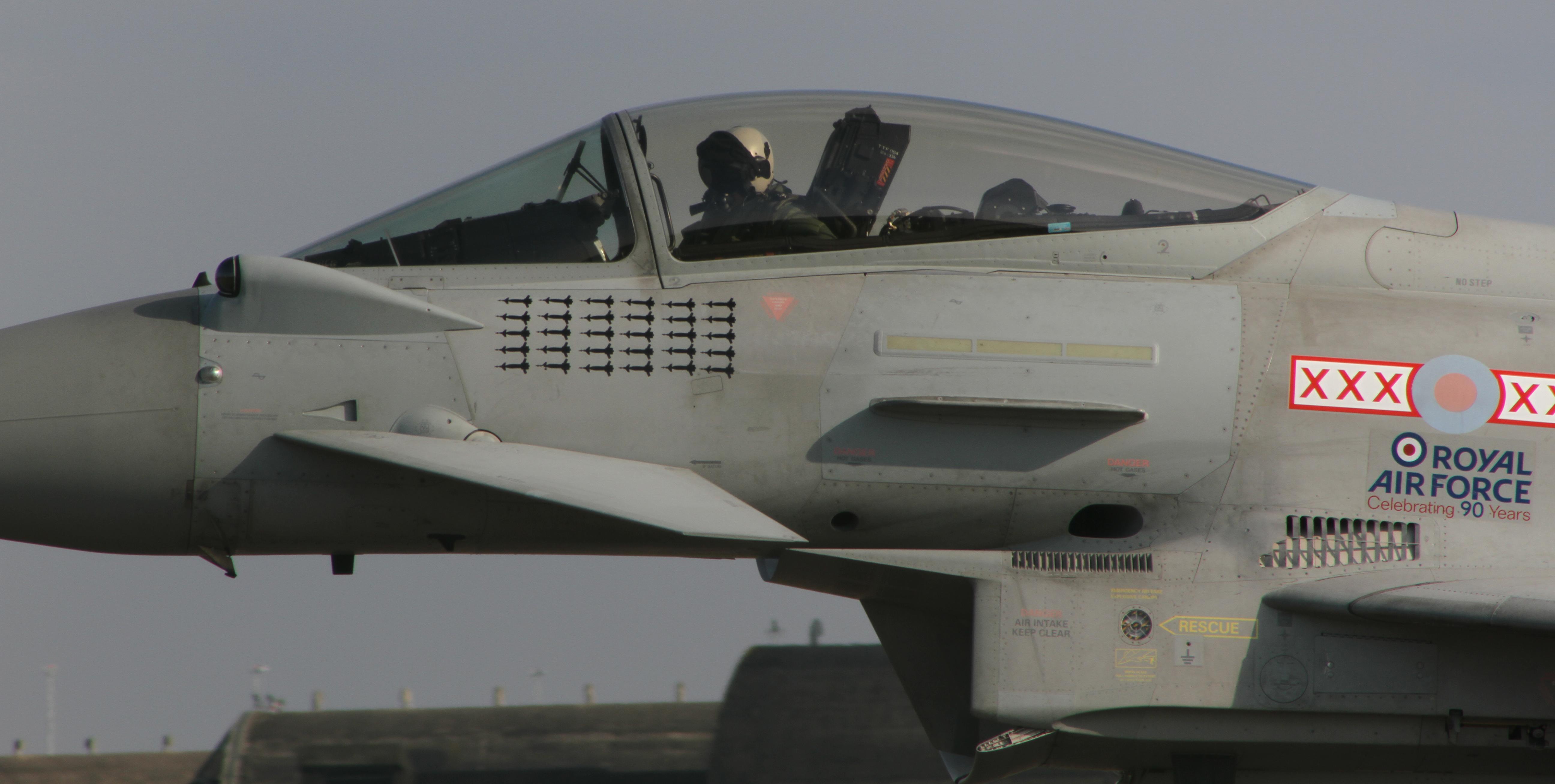 B060 RAF Typhoon