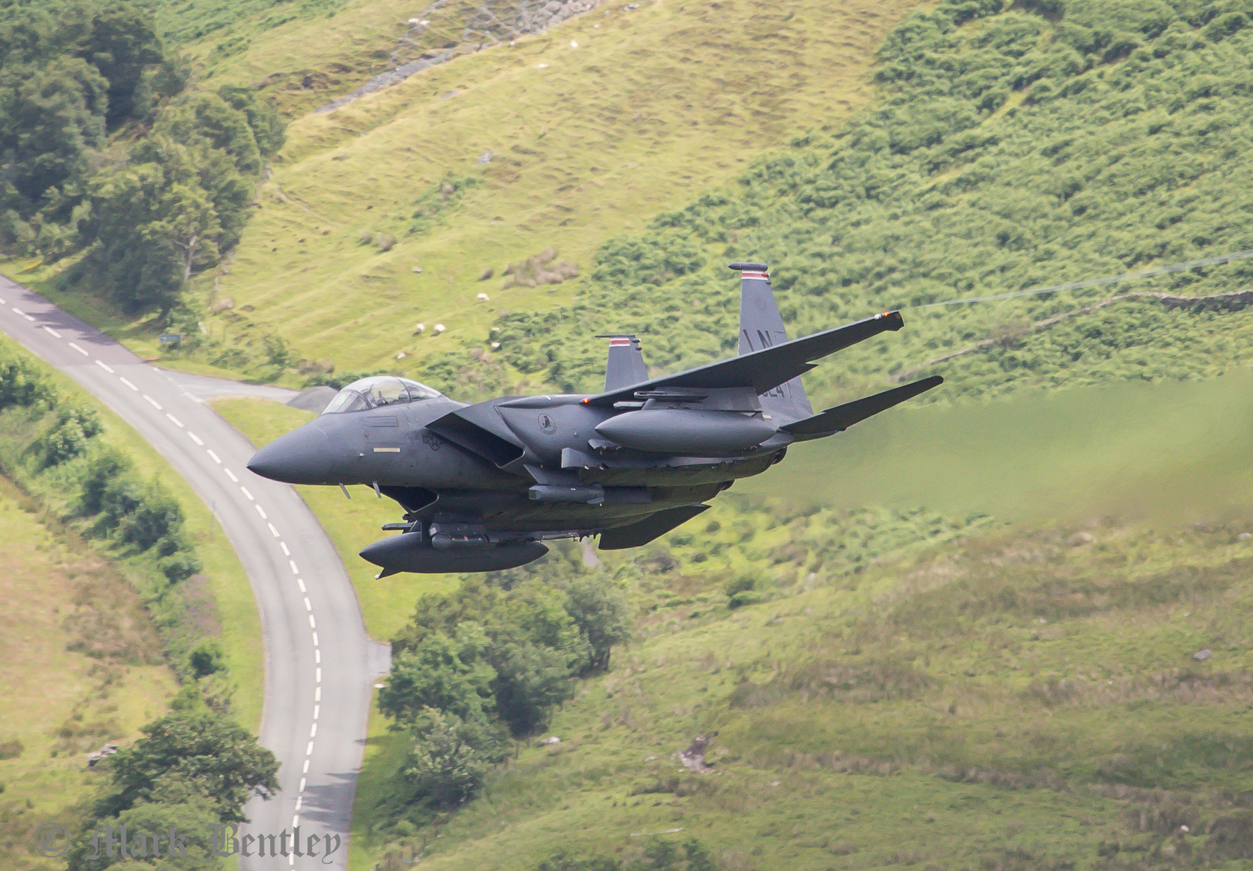 011 USAF F15-E Strike Eagle