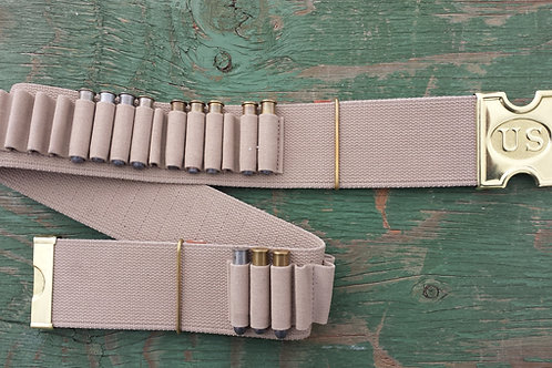 """M-1881 3"""" Mills Belt and Buckle, 45/70, and many other rifle calibers."""