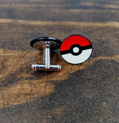 Pokeball Cufflinks, Pokemon Cuff Links, Anime Accessories        Buy together,