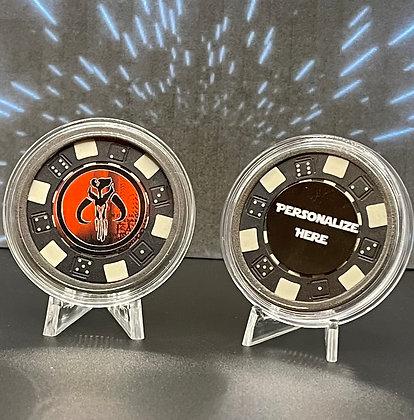 Mandalorian Collectible Poker Chip