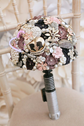 Sci-Fi Star space wars inspired wedding Bouquet, light up, any colour, alternat