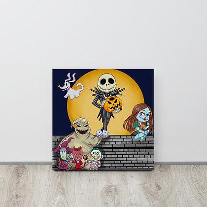 Nightmare Before Christmas Canvas