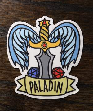 Banner Class Sticker: Paladin