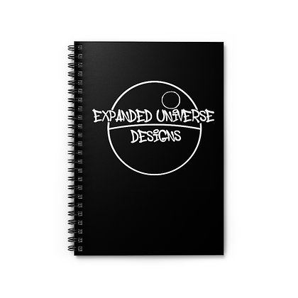 Expanded Universe Spiral Notebook - Ruled Line