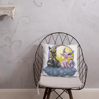Pokemon Umbreon and Espeon Pillow